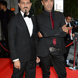 WWW.ENTSIMAGES.COM -  Pablo and Raj   arriving at      The Asian Achievers Awards at Grosvenor House London September 19th 2014The Asian Achievers Awards celebrates individuals who are responsible for bringing the South Asian community to the centre stage. The chosen charity partner is the Cherie Blair Foundation.                                                 Photo Mobis Photos/OIC 0203 174 1069