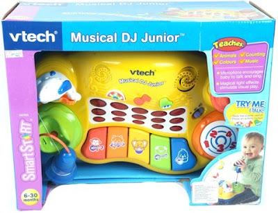 Hình ảnh hộp sản phẩm Bộ DJ nhạc Vtech