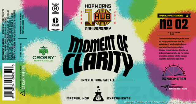 Hopworks Moment Of Clarity No 02 10th Anniversary IIPA