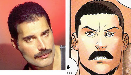Freddy Mercury and his alien twin