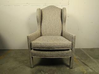 High Back Upholstered Side Chair