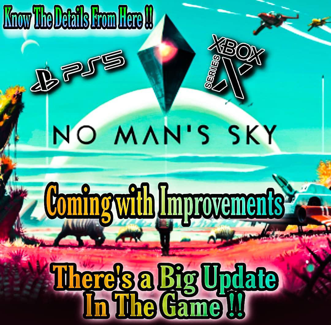 no man's sky ps5 update, no man's sky xbox series x enhanced