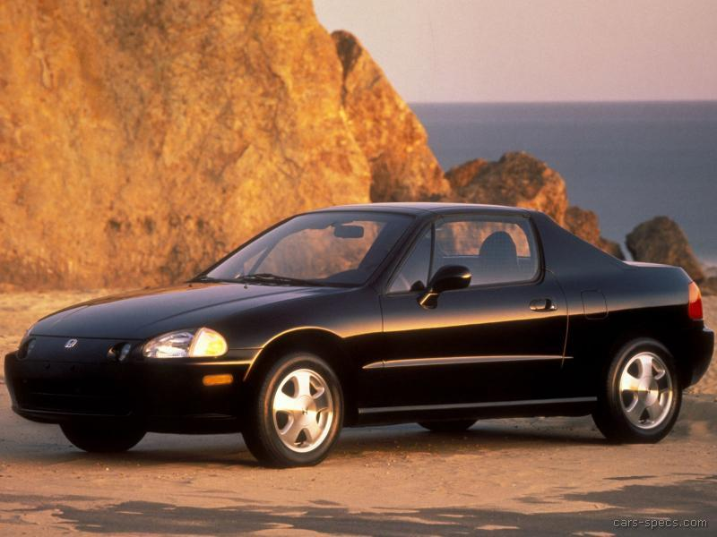 1994 honda civic del sol vtec specifications pictures prices. Black Bedroom Furniture Sets. Home Design Ideas