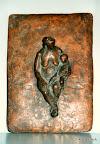 Mutter mit Kind, Bronze, 1989