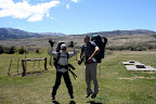 Vasilisa & Joshua on Backside of Circuit Hike (Torres Del Paine, Chile)