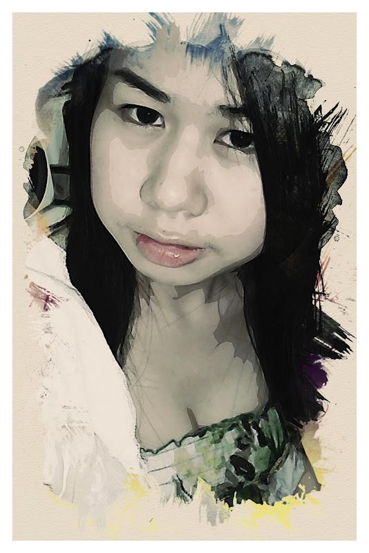เทคนิคการทำภาพสไตล์ Watercolor Portrait Wcpt39