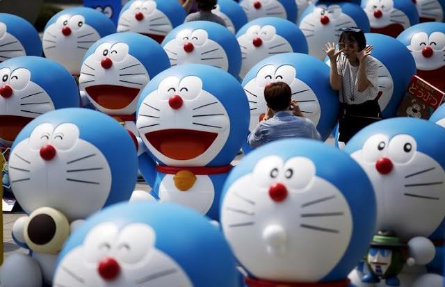 Negara Ini Larang Serial Doraemon Tayang Di Televisi