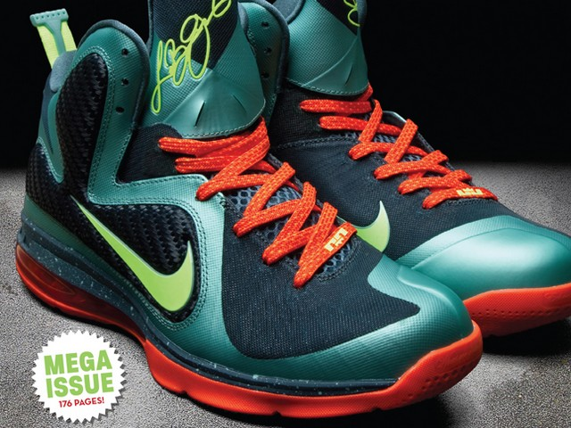 innovative design be259 11303 First Look Nike LeBron 9 8220Miami Hurricanes8221 ...