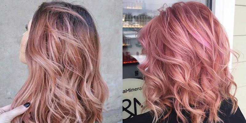 "Rose gold hair ""cosmopolita""n - Foto: Reprodução"