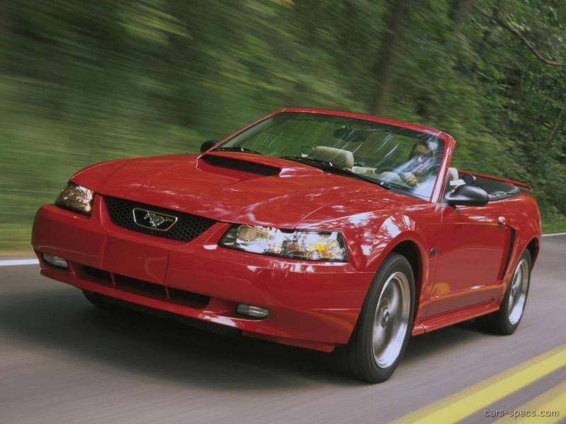2001 Ford Mustang Convertible Specifications, Pictures, Prices