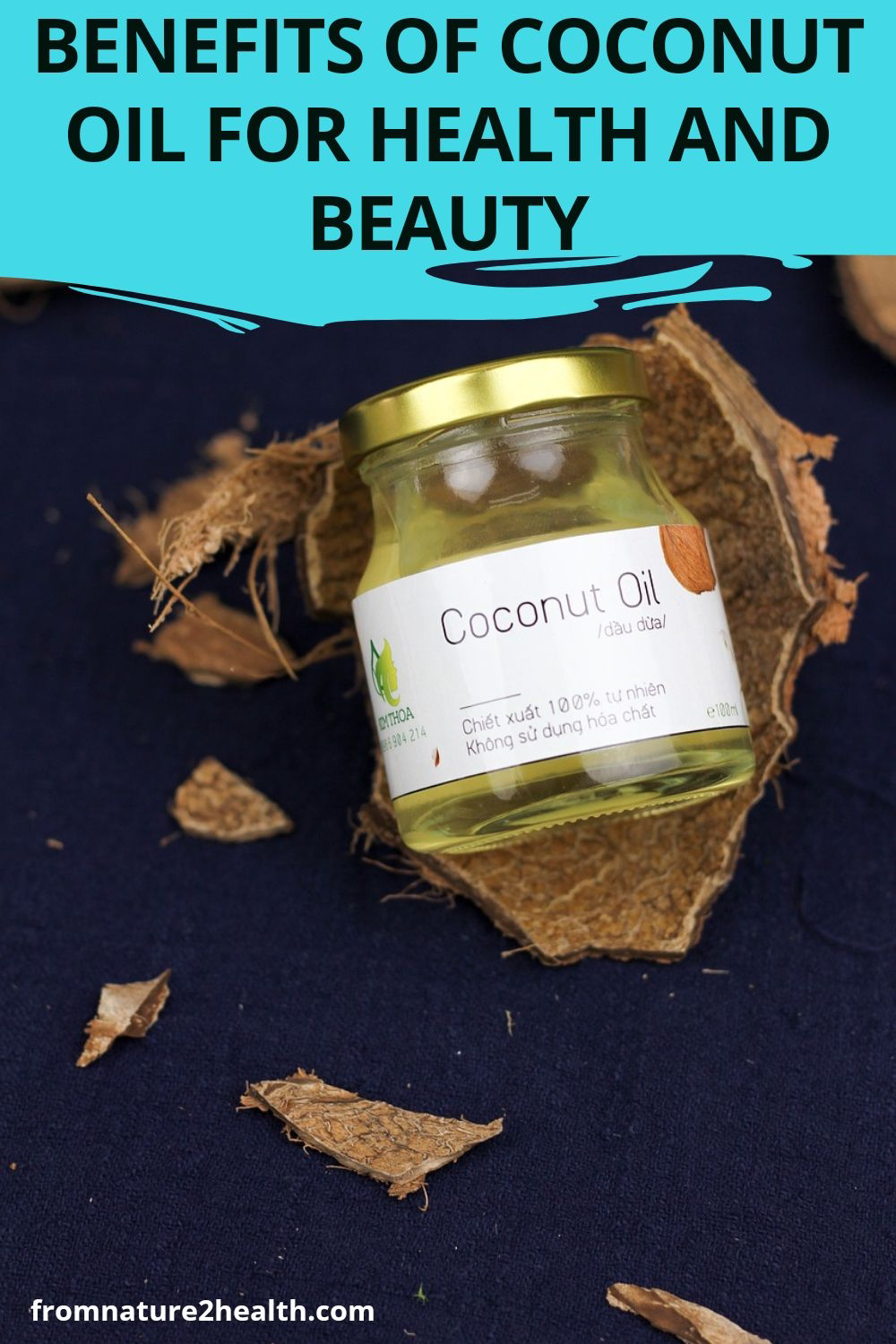 Benefits of Coconut Oil for Health and Beauty, antioxidants, osteoporosis