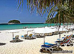 Kata Beach Map   Phuket Maps