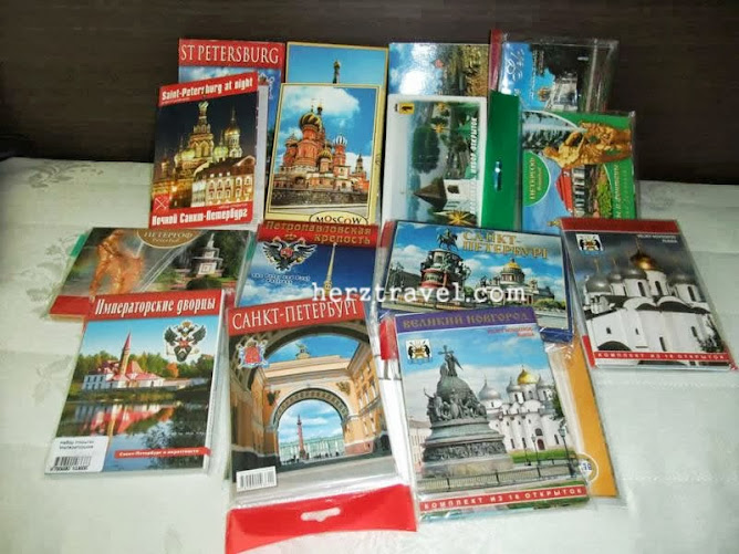 Russian Postcards