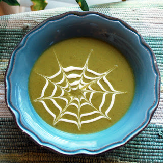 Spectacular Spiderman Spring Pea Soup