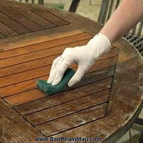 Mách khéo cách đánh bóng đồ gỗ-1
