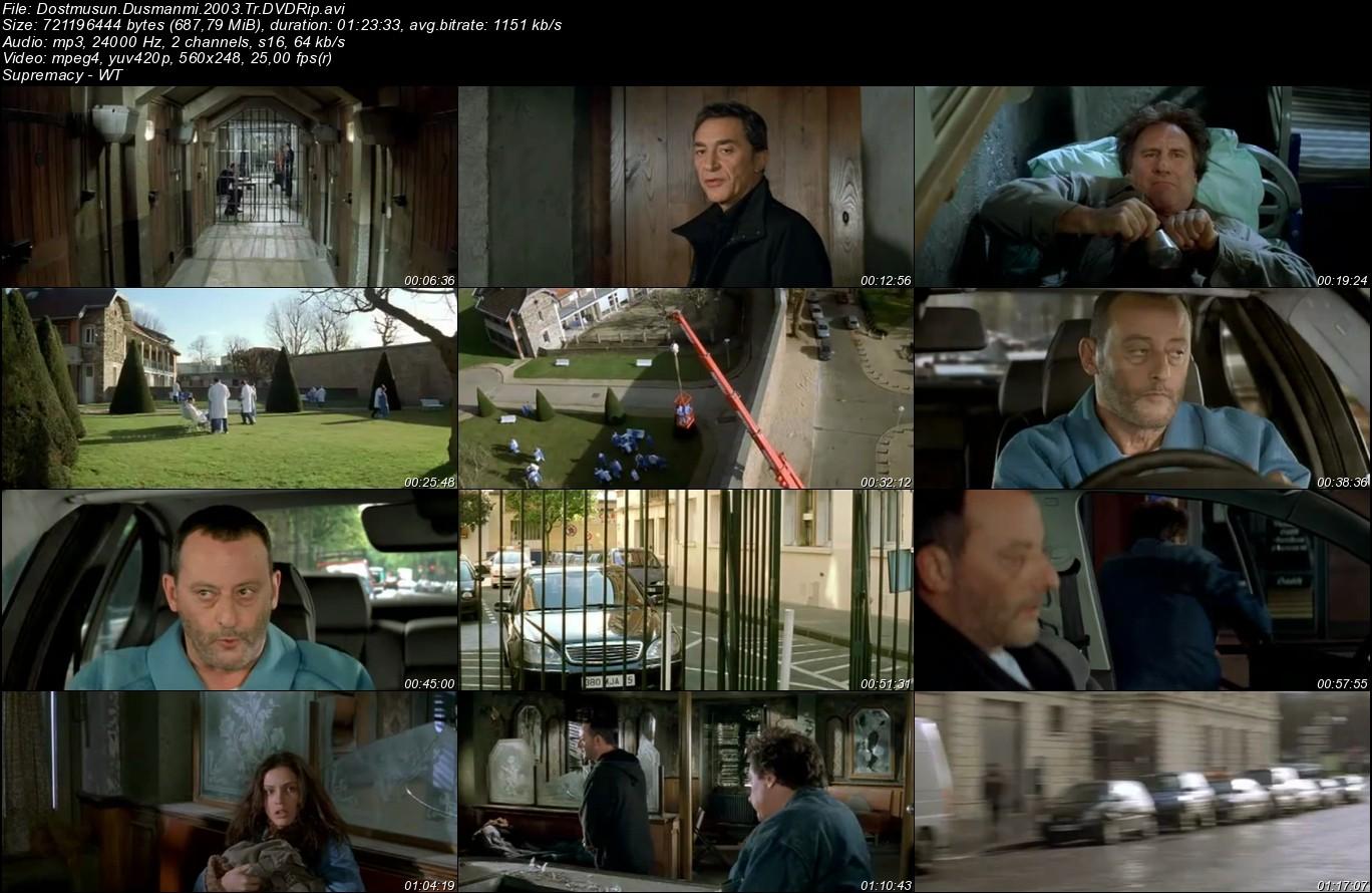 Dost musun? Düşman mı? - 2003 Türkçe Dublaj DVDRip Tek Link