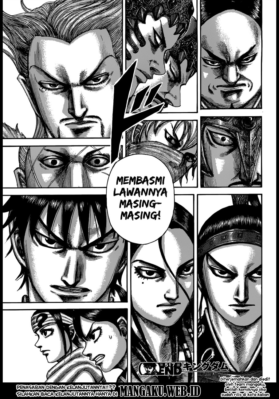 Baca Manga Kingdom Chapter 517 Komik Station