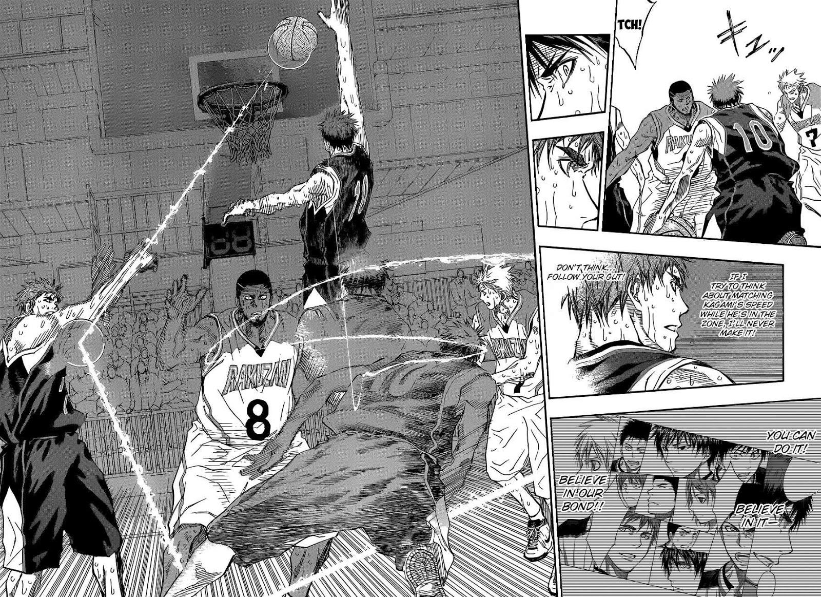 Kuroko no Basket Manga Chapter 271 - Image 02-03