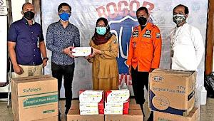 DANA Serahkan Bantuan Alat Kesehatan Penanganan Pandemi