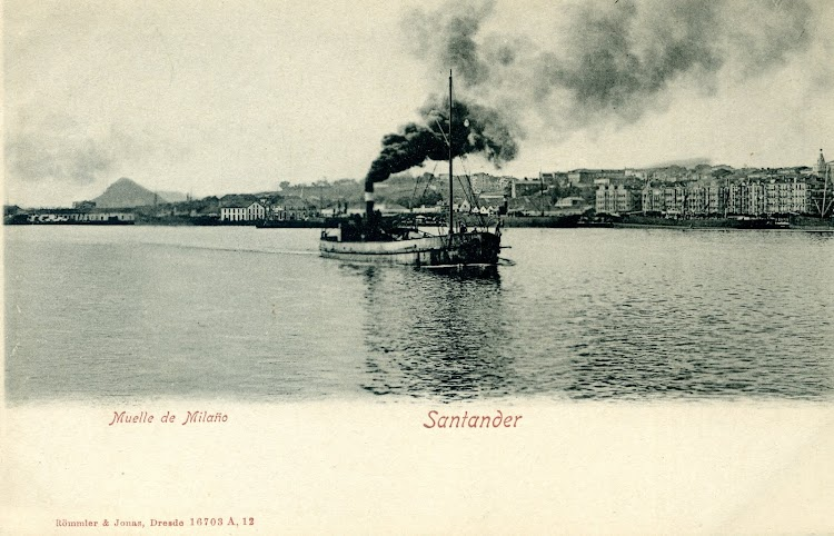 Gánguil SAN CELEDONIO a principios de siglo. Postal.jpg