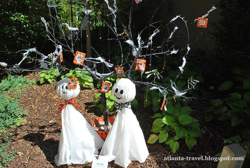 пугало на Хеллоуин