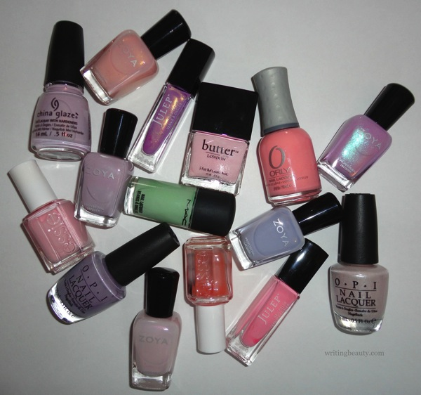 Writing Beauty: Spring 2016 Nail Polish Favourites