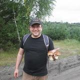 Native lubił zbierać grzyby