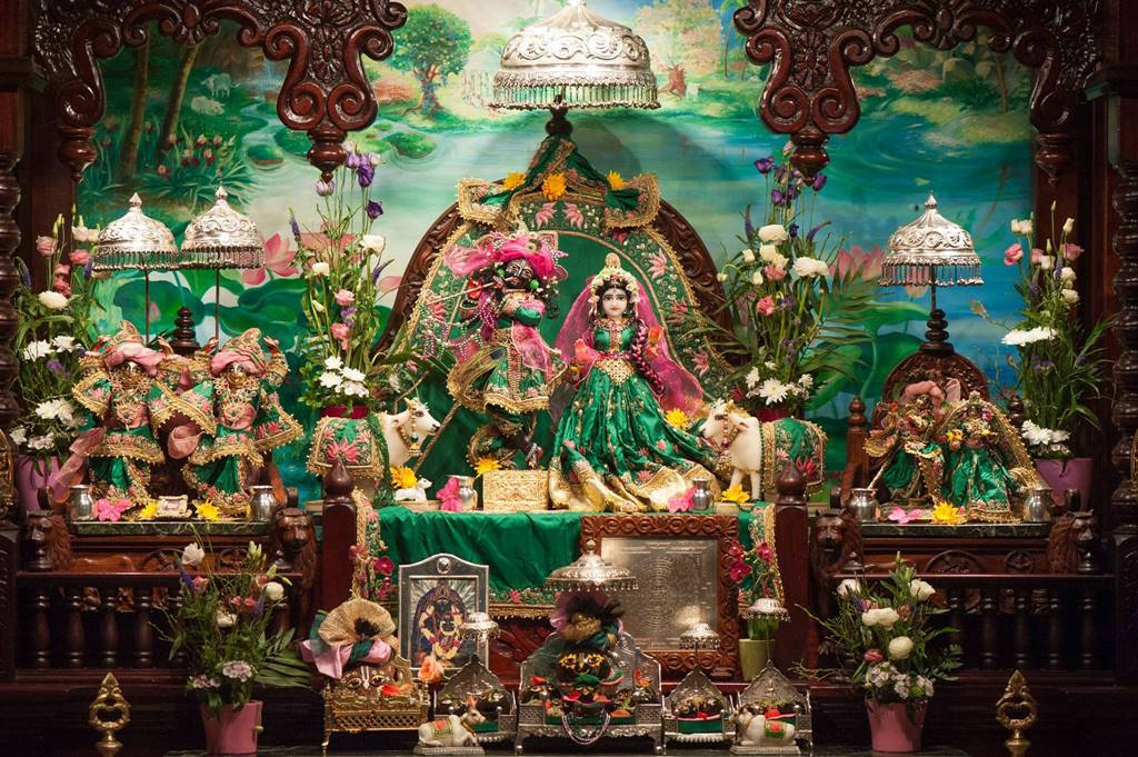 ISKCON Goloka Dhama, Germany Deity Darshan 03 Mar 2016 (4)