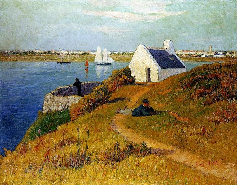 Henry Moret - Lorient Harbor, c. 1895