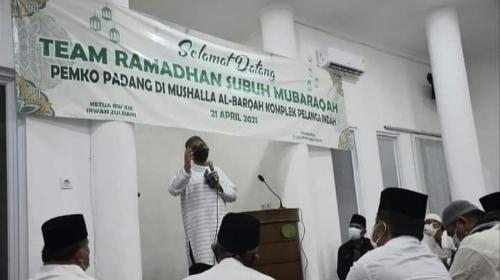 Subuh Mubarakah di Musala Al-Barqah Korong Gadang, Wako Hendri Septa Jelaskan Makna Surat An-Nisa Ayat 59