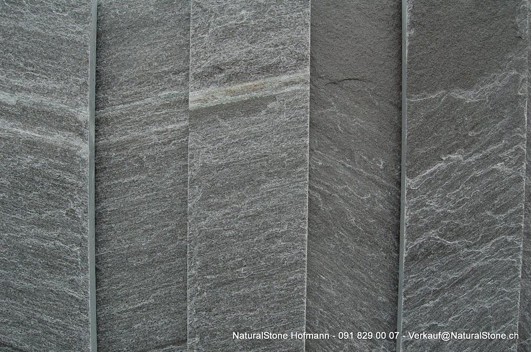 Tessiner Gneis Calanca weniger hell einheitlich grau