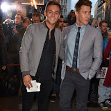 OIC - ENTSIMAGES.COM - Tom Daley and Dustin Lance Black at the  Photograph 51 - press night  in London 14th September 2015 Photo Mobis Photos/OIC 0203 174 1069
