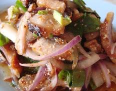 Moo Num Tok Salad