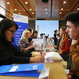 Photography from: El 16ª encuentro CETT - empresa finaliza con un 60% más de ofertas laborales para los estudiantes | CETT