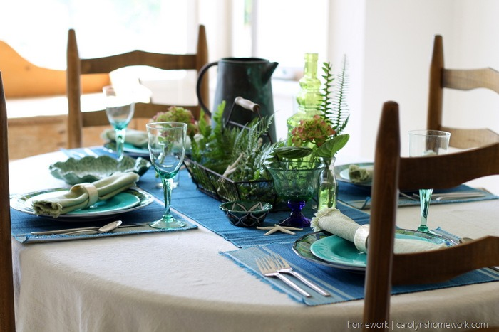 Mediterranean Table Setting via homework (3)