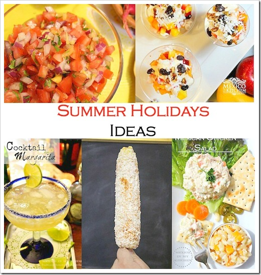 Summer Holiday Recipe | 4th july