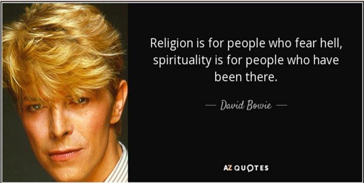 Bowie spirituality