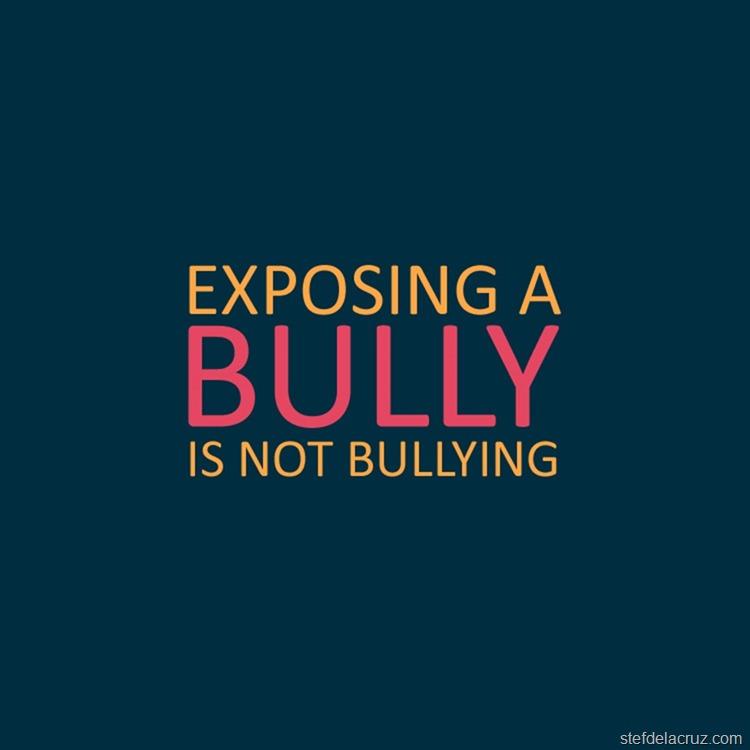 expose bullies