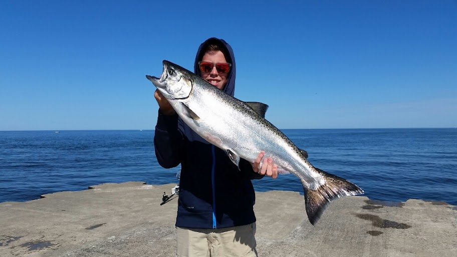 Lake Michigan King Salmon Fishing