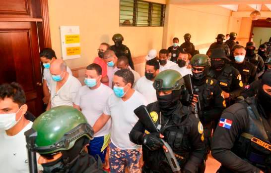 Se entrega a la Fiscalía de Santiago otro implicado en la Operación Falcón