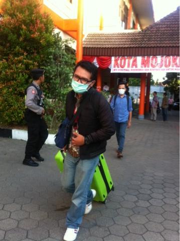 KPK Sita Dokumen dan Rekaman CCTV di Gedung DPRD Kota Mojokerto