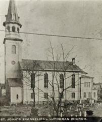 St. John's Hagerstown Cemetry to 1920