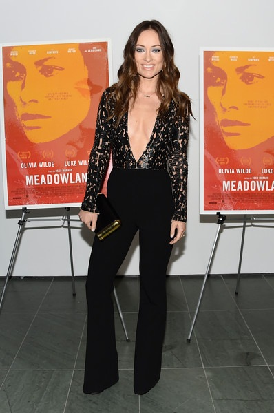 Olivia Wilde New York Screening Meadowland