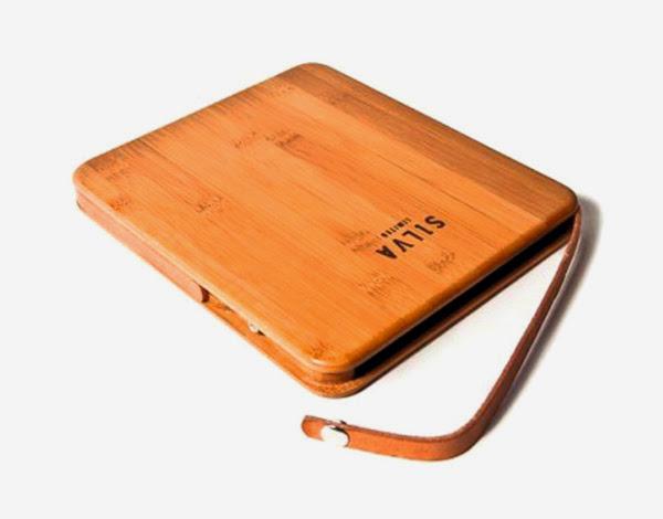 *iPAD專用保護套:手工竹製打造! 1