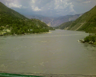 The Mighty Indus _ viewed from Thakot Bridge