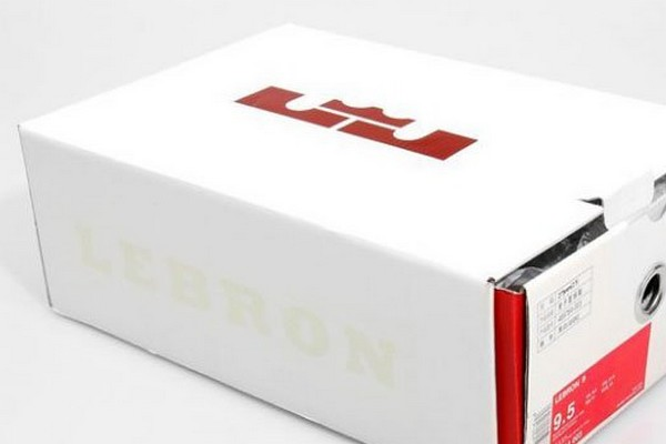 Nike LeBron 9 and The New White Drawer Boxes it Comes In