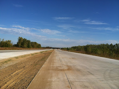 road, construction, closed, pavement, new, 141, missouri