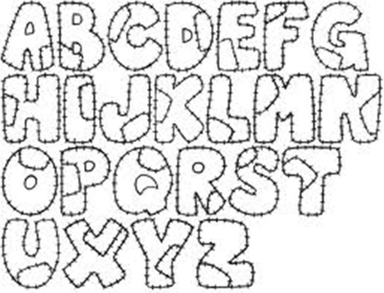 Molde De Letras Para Fomi Imagui Molde De Letras Para Fomi
