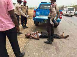 DRIVER CRUSHES FRSC OFFICER TO DEATH IN AKURE