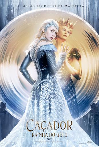 poster O Caçador e a Rainha do Gelo